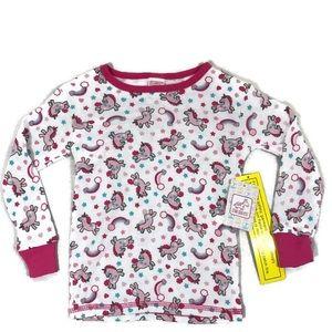 Other - Brand new Girls Unicorn PJ top, size 4T